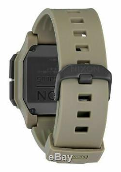 Nixon Regulus Men's Sand Colored Military Digital 46mm Watch A1180 2711-00 NEW