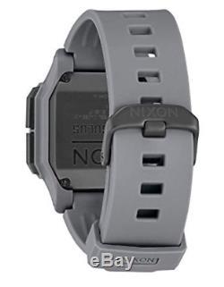 Nixon Regulus Mens Water and Shock Resistant Digital Watch. 46mm. Locking Loop