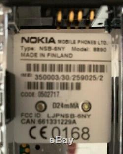 Nokia 8890 Gray (Unlocked) Cellular Phone