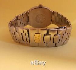 Omega Seamaster Polaris 18K Gold & SS Multifunction Digital watch 2540.50