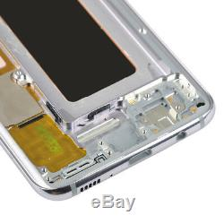 Orchid Gray LCD Display Screen Digitizer Replacement for Samsung Galaxy S8 G950