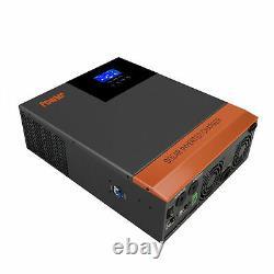 PowMr 3000W Solar Inverter In 60A MPPT Controller For Lithium BATT DC24V AC120V