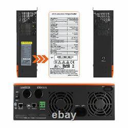 PowMr 3500W Solar Inverter In 80A MPPT Charger Controller DC48V AC110/120V PV145