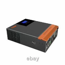 Powmr Solar Off-grid Inverter 3000W 24VDC In MPPT Charging Model 60A AC120V US