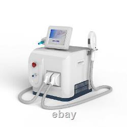 Professional ipl nd yag laser tattoo hair removal salon beauty machine
