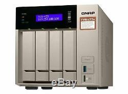 QNAP TVS-473E RX-421BD Ethernet LAN Tower Gray NAS