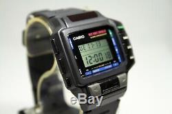 Rare Vintage Casio CMD-10 Remote Control TV/VCR Wrist Watch 1138 Japan Module