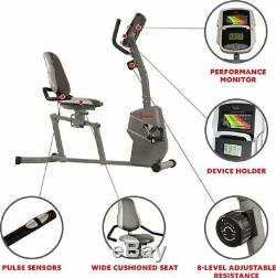 Recumbent Exercise Bike Stationary Adult Fitness Home Gym Magnetic Cardio Pulse