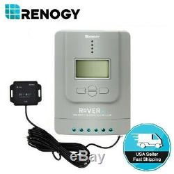 Renogy Rover 30A MPPT Common Positive Solar Charge Controller Bluetooth 12V 24V