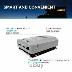 Renogy Rover PG 40Amp MPPT Solar Charge Controller 12 24 Volt Battery Regulator