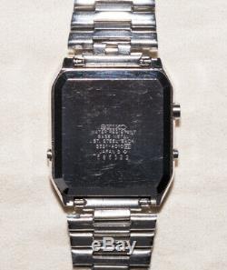 SEIKO RC-4000 Datagraph S521-4010, Quartz Digital LCD, Men's Computer Watch 1985