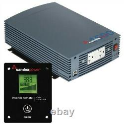 Samlex 1500W Pure Sine Wave Inverter 12V withLCD Display Remote Control