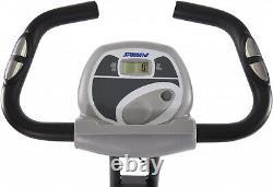 Stamina Cardio Folding Exercise Bike w Heart Rate Sensors+Extra Wide Padded Seat