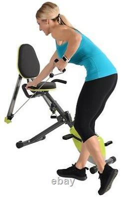 Stamina Wonder Cardio Recumbent Exercise Bike with Arm Legs Whole Body 15-0336