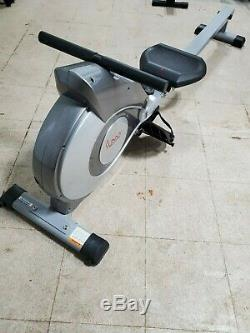 Sunny Health And Fitness Magnetic Rowing Machine with LCD Monitor SF-RW5515