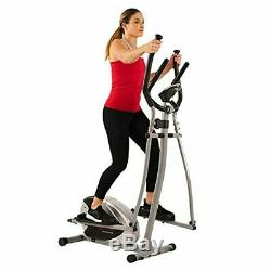 Sunny Health & Fitness SF-E905 Elliptical Machine Cross Trainer with 12 Levels