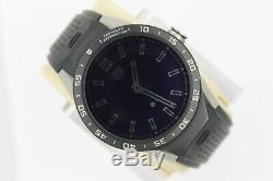 Tag Heuer Connected SAR8A80. FT6045 Smart Watch Mens Black LCD Digital Case 45 46
