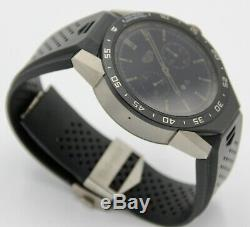 Tag Heuer Connected SAR8A80 Mens Digital Smart Watch BLACK 46mm