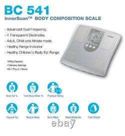 Tanita Digital 150kg Innerscan Body Composition Weight Scale With LCD Display BC-5