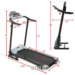 Treadmill 2.0 HP Electric Motorized Fitness Running Home Machine withLCD Display