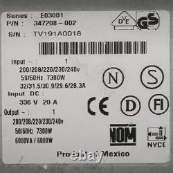 UPS Uninterruptible Power Supply Hp R6000 Including Batteries 6000VA