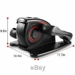 Under Desk Mini Cycle Pedal Exerciser Elliptical Machine Trainer Quiet & Compact