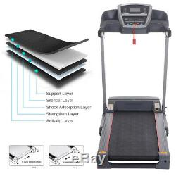 Upgraded 3.0HP Folding Electric Treadmill Commercial Health Fitness Training US