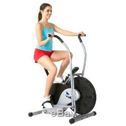 Upright Exercise Stationary Bike Cardio Fitness Workout Indoor Home Gym Bicycle