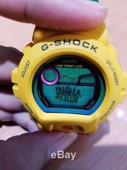 Vintage G-Shock GLX-6900A Information One Love Rasta Reggae Hip-Hop Moon&Tide