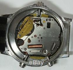 Vintage Seiko H556-5020 Baby Arnie Digital Analog Alarm Chrono Sports Watch