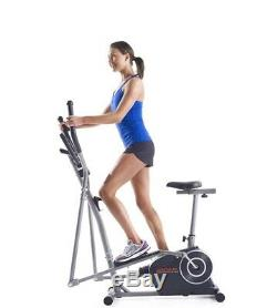Weslo Momentum G 3.2 Bike/Elliptical 2-in-1 Hybrid Trainer W