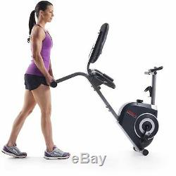 Weslo Pursuit G 3.1 Recumbent Exercise Bike with Tablet Holder