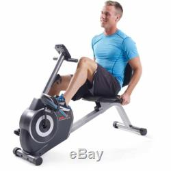 Weslo Pursuit G 3.1 Recumbent Exercise Bike with Tablet Holder Home Fitness Gym