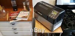 Zojirushi BBCEC20K3 700W Bread Maker (plus extras)