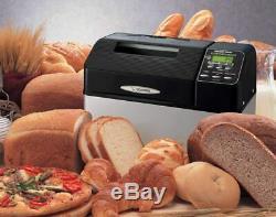 Zojirushi Bread-maker Home Bakery Supreme 2 lb. Loaf, Black Dual Blade BB-CEC20