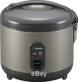 Zojirushi NS-RPC18HM Rice Cooker and Warmer, 1.8-Liter, Metallic Gray 10 CUP